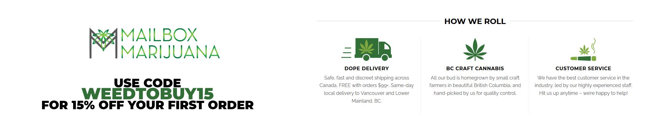 Mailbox Marijuana