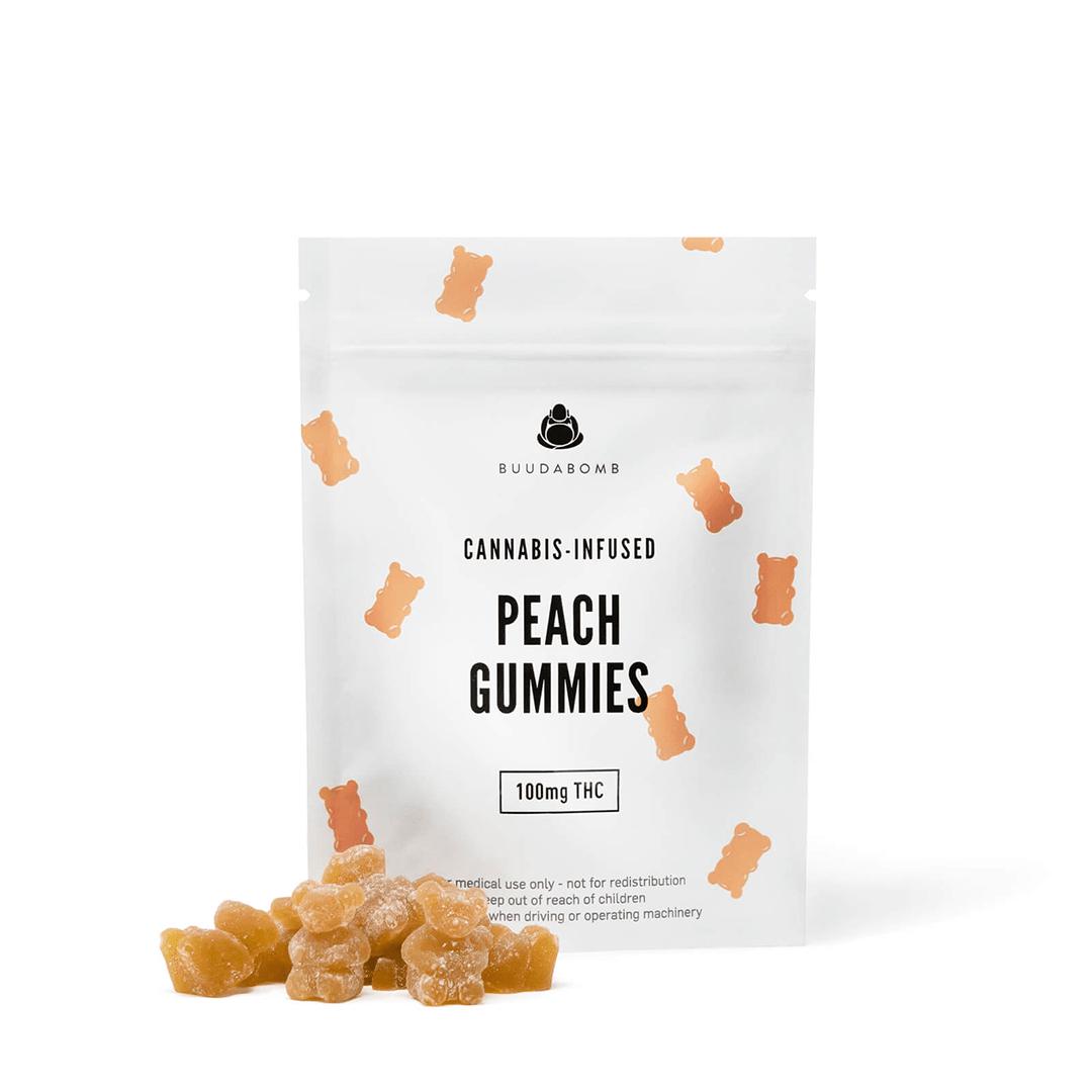 Peach Gummies 100mg
