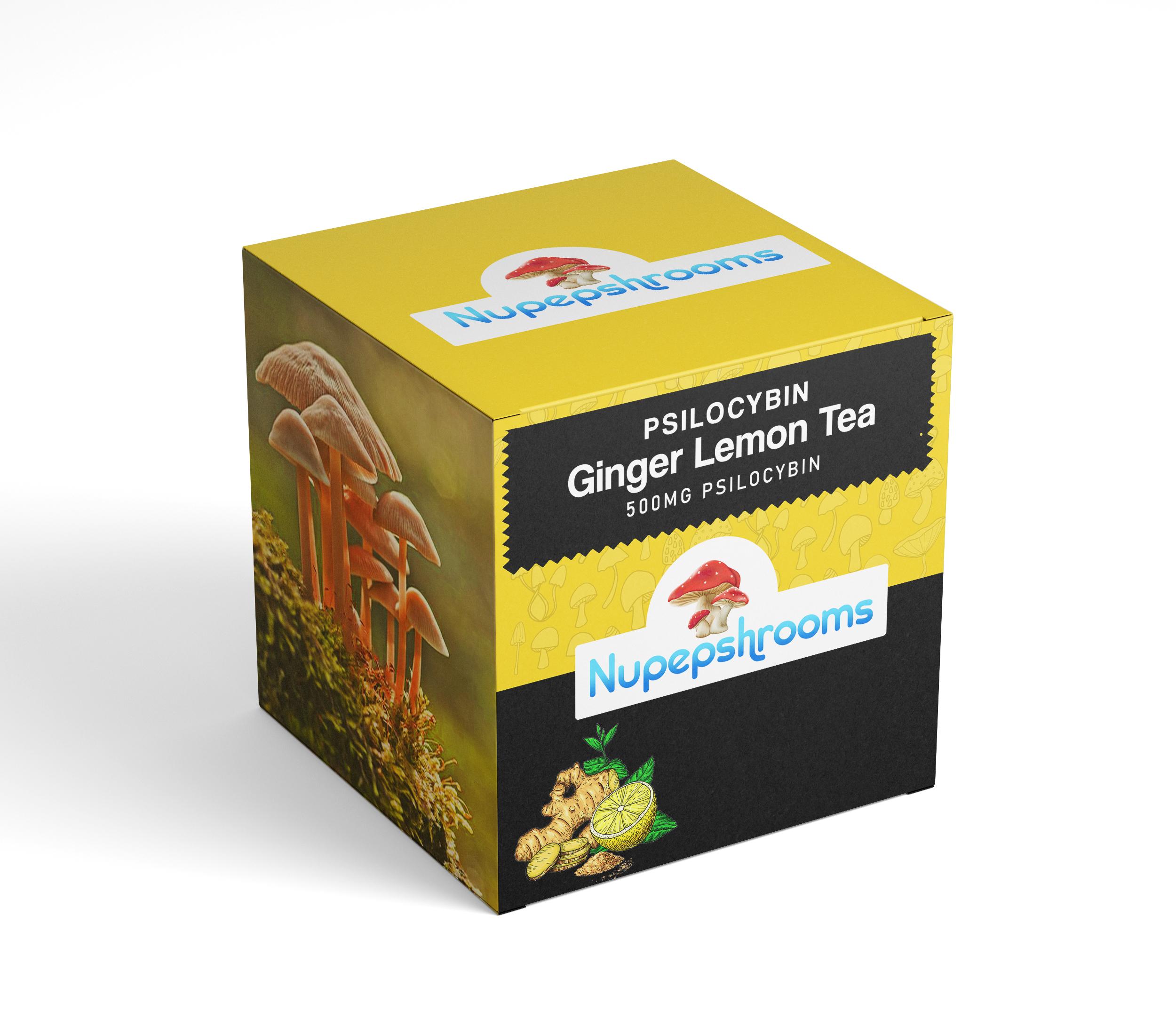 Psilocybin Ginger Lemon Tea