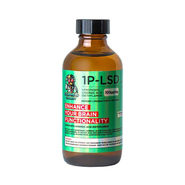 DEADHEAD CHEMIST Microdose LSD 100ML 1P-LSD Microdosing Kit