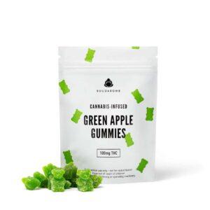 Buudabomb – Apple Gummies 100mg