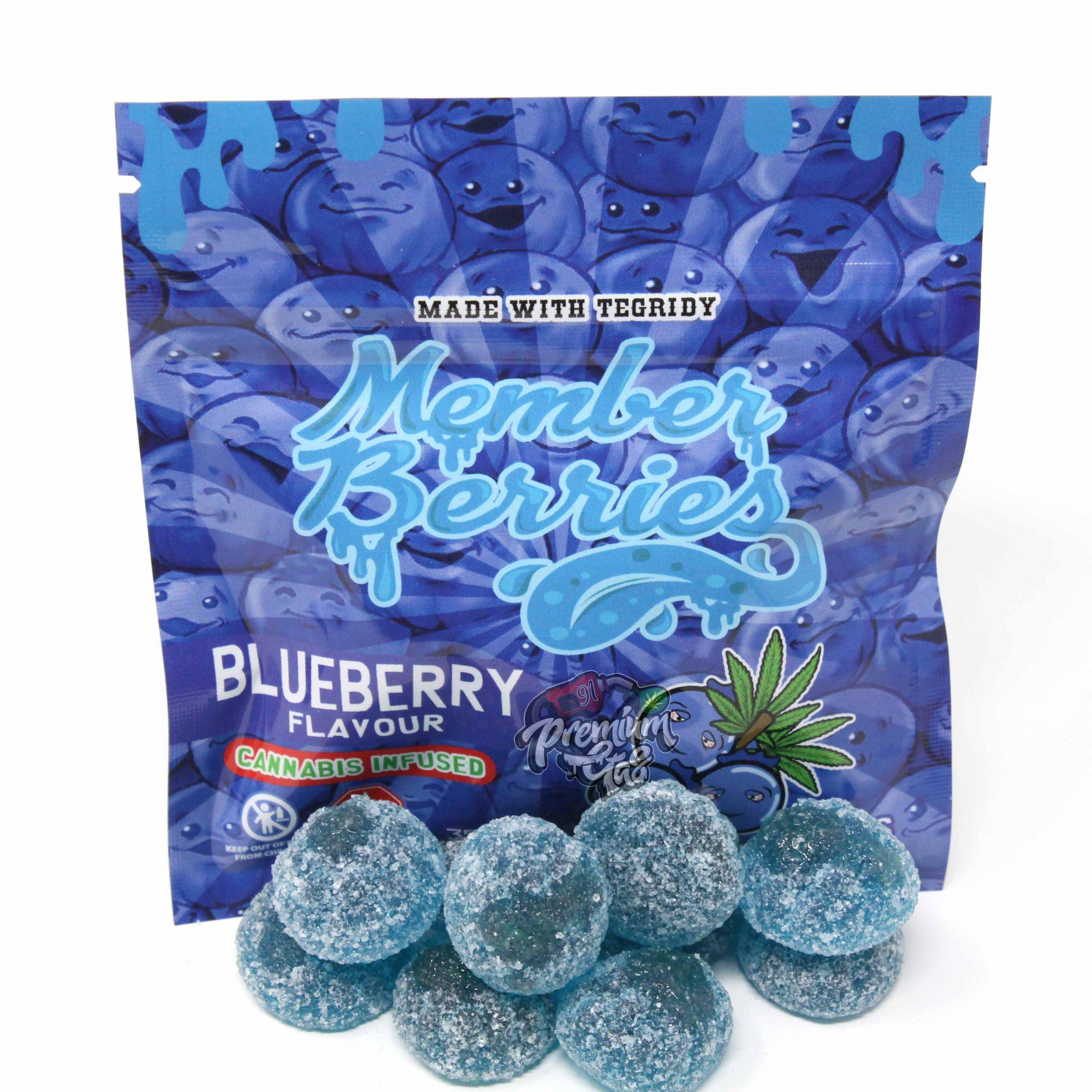 Member Berries – Blueberry 350mg