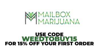 15% OFF @ Mailbox Marijuana